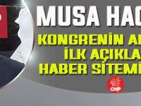 CHP Akçaabat İlçe Başkanı Musa Hacıoğlu İlk Açıklamasını Haber Sitemize Yaptı