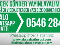 Whatsapp Haber Hattı: Çekin, Gönderin, Yayınlayalım