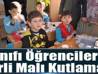 Akçaabat Abdullah Fazıl Ağanoğlu İlkokulu 1/C Sınıfı Öğrencilerinden Yerli Malı Kutlaması