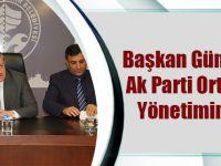 Başkan Gümrükçüoğlu, AK Parti Ortahisar İlçe Yönetimini Ağırladı