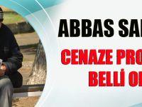 Abbas Saraç'ın Cenaze Programı Belli Oldu