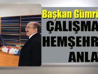 Başkan Gümrükçüoğlu Çalışmalarını Hemşehrilerine Anlattı