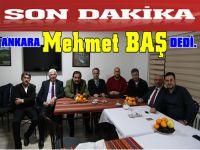 Ankara Mehmet Baş'ın Arkasında.
