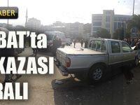 Akçaabat'ta Minibüs İle Kamyonet Çarpıştı: 2 Yaralı