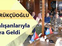 Gümrükçüoğlu Her Hafta Sonu Belediye Çalışanları İle Bir Araya Geliyor