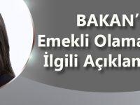 Bakan Sarıeroğlu'ndan Emekli Olamayanlarla İlgili Flaş Açıklama.