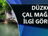 Trabzon'da Çal Mağarası İlgi Görüyor.