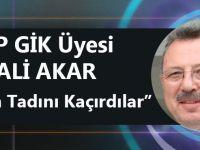 """DP GİK Üyesi Ali Akar """"Şekerin Tadını Kaçıranlar"""""""