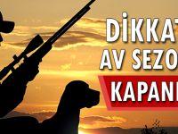 Trabzon Valiliği Uyardı: Av Yasağı Başladı