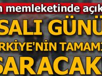 Bakan Eroğlu: Salı Günü Türkiye'nin Tamamını Yağış Kaplayacak