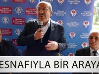 Başkan Gümrükçüoğlu Berber Esnaflarıyla Bir Araya Geldi