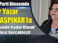 CHP Akçaabat Kadın Kolları Zerrin Taşpınar'la 8 Mart'ı Kutladı