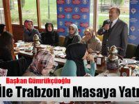 Başkan Gümrükçüoğlu Öğrenciler İle Trabzon'u Masaya Yatırdı