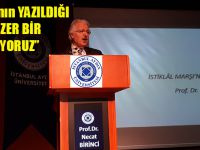 İstiklal Marşı'nın Kabulünün 97'nci Yıldönümü İAÜ'de Anıldı