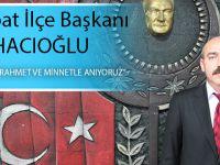CHP Akçaabat İlçe Başkanı Musa Hacıoğlu 18 Mart Çanakkale Deniz Zaferi Mesajı Yayınladı