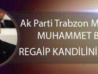 Ak Parti Trabzon Milletvekili Muhammet Balta Regaip Kandilini Kutladı!