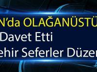 Trabzon'da Olağanüstü Durum