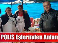Trabzon'da Polis Eşlerinden Anlamlı Kermes