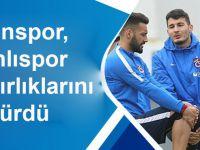 Trabzonspor, Osmanlıspor Maçı Hazırlıklarını Sürdürdü.