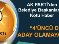 AK Parti Genel Başkan Yardımcısı Yazıcı: Belediye Başkanlarının Dördüncü Dönemi Yok