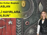 CHP Akçaabat İlçe Kadın Kolları Başkanı Esin Küçükaslan Miraç Kandili Hayırlara Vesile Olsun..