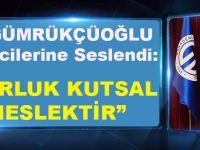 Başkan Gümrükçüoğlu TIP Öğrencilerine Seslendi:Doktorluk Kutsal Bir Meslektir