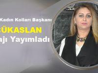 CHP Akçaabat İlçe Kadın Kolları Başkanı Esin Küçükaslan Taziye Mesajı Yayımladı
