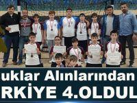 Akçaabat Kavaklı Ortaokulu Türkiye 4.Oldu!