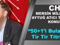 CHP Milletvekili Trabzon'da Konuştu,Şeytanın Aklına Gelmeyecek İşlemleri Devreye Soktular