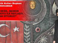 """CHP Akçaabat İlçe Gençlik Kolları Başkanı Halil İbrahim Kocaman: """"Biz, Hodri Meydan Diyoruz"""""""