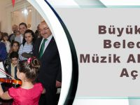 Büyükşehir Belediyesi Müzik Akademisi Açıldı