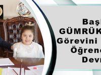 Başkan Gümrükçüoğlu, Görevini Anaokulu Öğrencisine Devretti