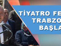 19. Uluslararası Karadeniz Tiyatro Festivali Trabzon'da Başladı