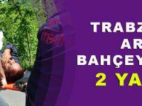 Trabzon'da Otomobil Fındık Bahçesine Uçtu: 2 Yaralı