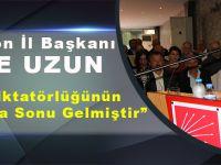 "CHP Trabzon İl Başkanı ""Gün Dayanışma Günüdür. Çünkü Bu Ülkeye Sözümüz Var"""