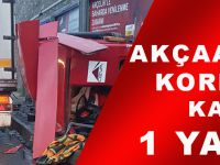 Akçaabat'ta Korkunç Kaza:1 Yaralı