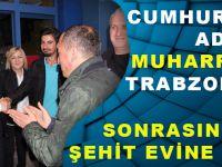 Cumhurbaşkanı Adayı Muharrem İnce Trabzon'a Geldi, Şehit Evine Uğradı