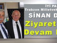 İYİ PARTİ Trabzon Milletvekili Aday Adayı Sinan Değer Ziyaretlerine Devam Ediyor!