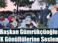 Başkan Gümrükçüoğlu Stk Gönüllülerine Seslendi:
