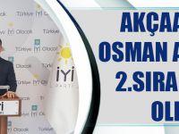 Akçaabatlı Osman Akbulut 2.Sıra Adayı Oldu!