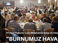 İYİ Parti Trabzon Milletvekili Adayı Dr. Hüseyin Örs, İktidara Yüklendi: