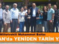 """Ak Parti Trabzon Milletvekili Muhammet Balta:  """"24 Haziran'da Yeniden Tarih Yazacağız"""""""