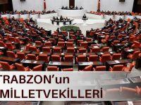 İşte Trabzon'un 27.Dönem Milletvekilleri