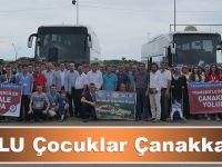 Bilge Nesil Çanakkale'ye Uğurlandı