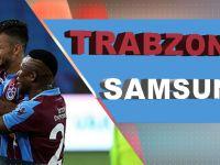 Trabzonspor Samsunspor'u Farklı Geçti.
