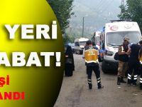 Akçaabat'ta Turistleri Taşıyan Minibüs Duvara Çarptı: 17 Yaralı