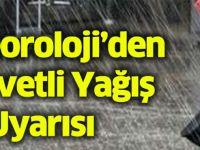 Trabzon'da Şiddetli Yağış Uyarısı