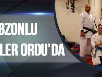 Trabzonlu Karateciler Ordu'da