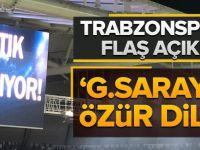 """""""Galatasaray'dan Özür Dileriz"""""""