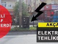 Akçaabat'ta Elektrik Panosu Tehlike Saçıyor!